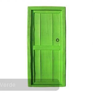 porta verde 607